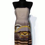 Суперцена. Красивое летнее платье бюстье. Яркий принт. Новое, размер 42