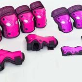Комплект детской защиты 3в1 Zelart 3503, 2 цвета: размер М (8-12 лет)