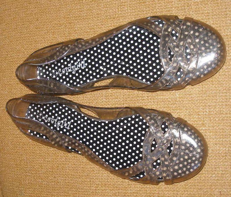 1592 балетки cootgirl 38.(24см). силиконовые. фото №1
