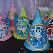 Декор дня рождения в стиле Поли Робокар