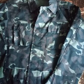 Камуфляжный хаки пиджак, на рыбалку в лес 52 размер