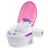 Summer детский горшок 3 в 1 накладка на унитаз + подставка infant step by step potty, girl