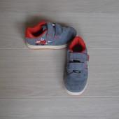 Замшевые кроссовки с подсветкой Next размер - 10 стелька - 18 см