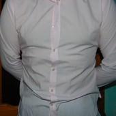 Стильная нарядная фирменная рубашка бренд Ventuno.м -л.
