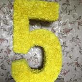 Продам нашу яркую цифру 5 на День рождения