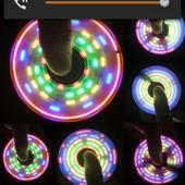 LED Спиннеры!3 Режима подсветки!Ещё больше разных комбинаций с цветными рисунками