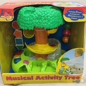 Игровой центр - Музыкальное дерево свет, звук Kiddieland