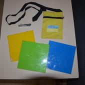 разное для детей: три досточки сумочка