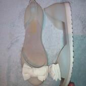 силиклновыебосоножки балетки с бантиком