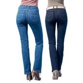 Синие джинсы стрейч, высокая посадка, Esmara. 38 евро