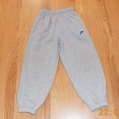 Фирменные спортивные брюки для ребенка 7-8 лет, 122-128 см