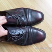 шкіряні туфлі 45р. 29.5см