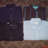 Фирменные мужские рубашки М-L