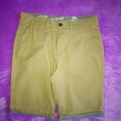 р. M (32) мужские шорты горчичного цвета Debenhams (Дебенхамс)