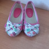Туфли для девочки 25 размер-15 см