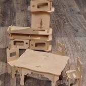 Мебель в кукольный дом для Барби!!!