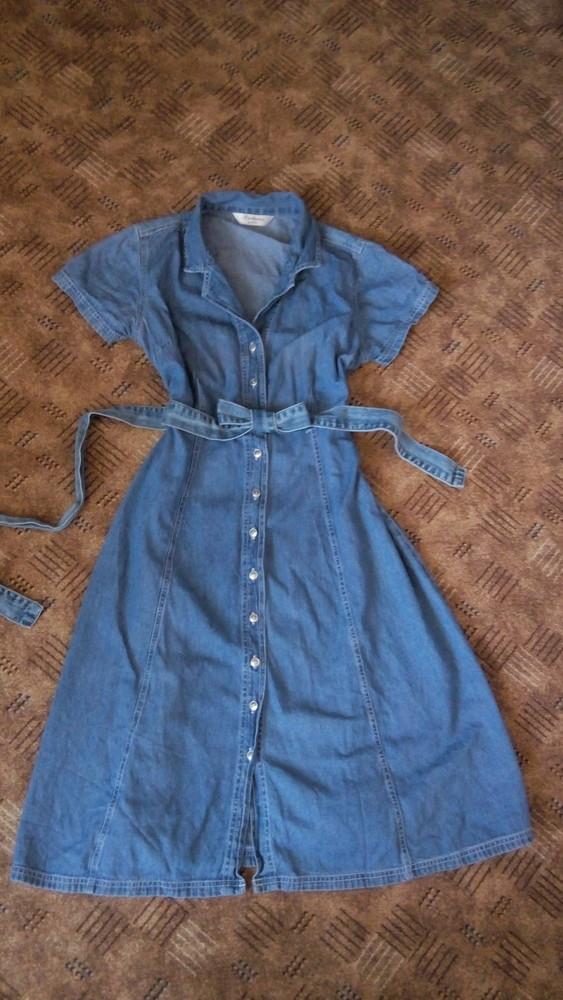 Джинсовое платье 52 размер