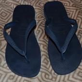 брендовые вьетнамки Havaianas Бразилия 27.5 см стелька 42 размер