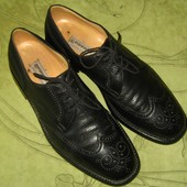 Туфли броги Gravati Italy Оригинал 45 р-р (11) 29.5 см, в отличном состоянии. Очень дорогой бренд, н