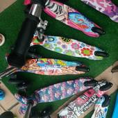 Трехколесные самокаты Scooter с регулируемой ручкой аналог Мини Микро