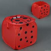 Корзина  для  игрушек ,  кубик  45х45х45 см.