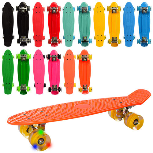 Львов! Пенни борд, скейт, скейтборд со светящимися колесами! Со светом фото №1