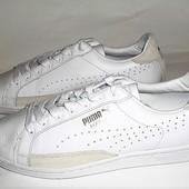 44 Мужские белые кожаные низкие кеды от Puma