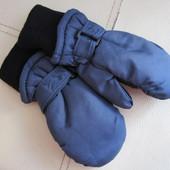 зимние варежки краги перчатки 1 - 3 года