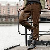Вельветовые брюки р.52 мужские штаны от Tcm Tchibo, Германия