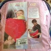 Беби  слинг для малыша от 2 до 10 кг ( состояние нового )