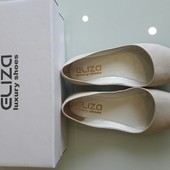 Шикарные балетки туфли лодочки Eliza luxury soes натуральная кожа Новая коллекция Будь модной!