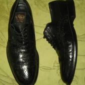 Туфли броги Aldo Bruc Italy 43 р-р стелька 28 см, в отличном состоянии. Полностью кожа, мягенькие. К