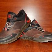 Merrel мужские кожаные кроссовки