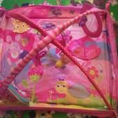 Развивающий музыкальный коврик с дугами  Крошка Принцесса Tiny Princess