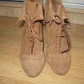 Ботинки Pull and Bear 37 размер