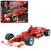 Конструктор - аналог Lego Гоночный болид Ferrari Decool 3335