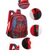 Рюкзак детский, 3Д эффект, ранец Спайдермен