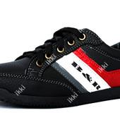 40 и 44 р Мужские современные кроссовки Львовской фабрики (БЛ-22ч)