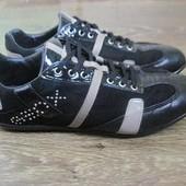 Кожаные кроссовки  (туфли) Geox р.38 вся стелька 25см