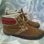Супперовые демисезонные утепленные ботинки Oliver 37-37,5