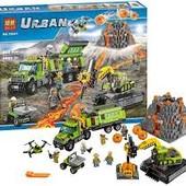 Конструктор Bela 10641 серия Urban Вулкан: разведывательная база (аналог лего 60124)