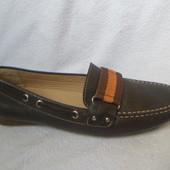 Geox Бразилия кожаные туфли мокасины 36