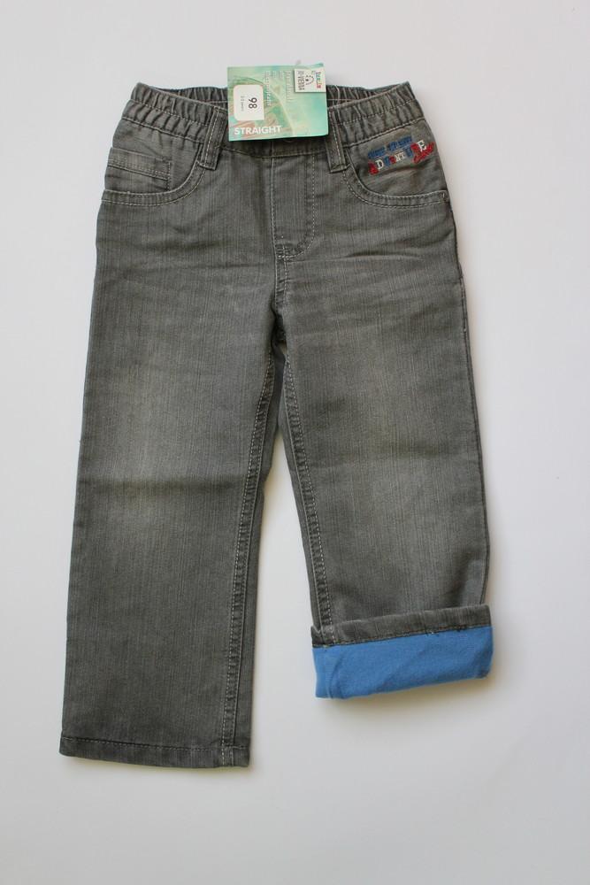 Большой выбор утепленные термо джинсы для мальчиков и девочек, lupilu, германия фото №1