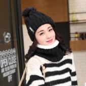 13-24 Зимняя женская шапка теплая