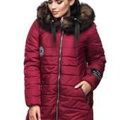 Зимняя куртка из качественной плотной ткани 44, 46, 48, 50, 52, 54, 56