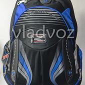 Школьный рюкзак для мальчиков Modern DFW черный с синим 3456