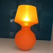 Лампа-неваляшка оранжевая Криссаре, Kryssare 102.683.571 Икеа Ikea В наличии