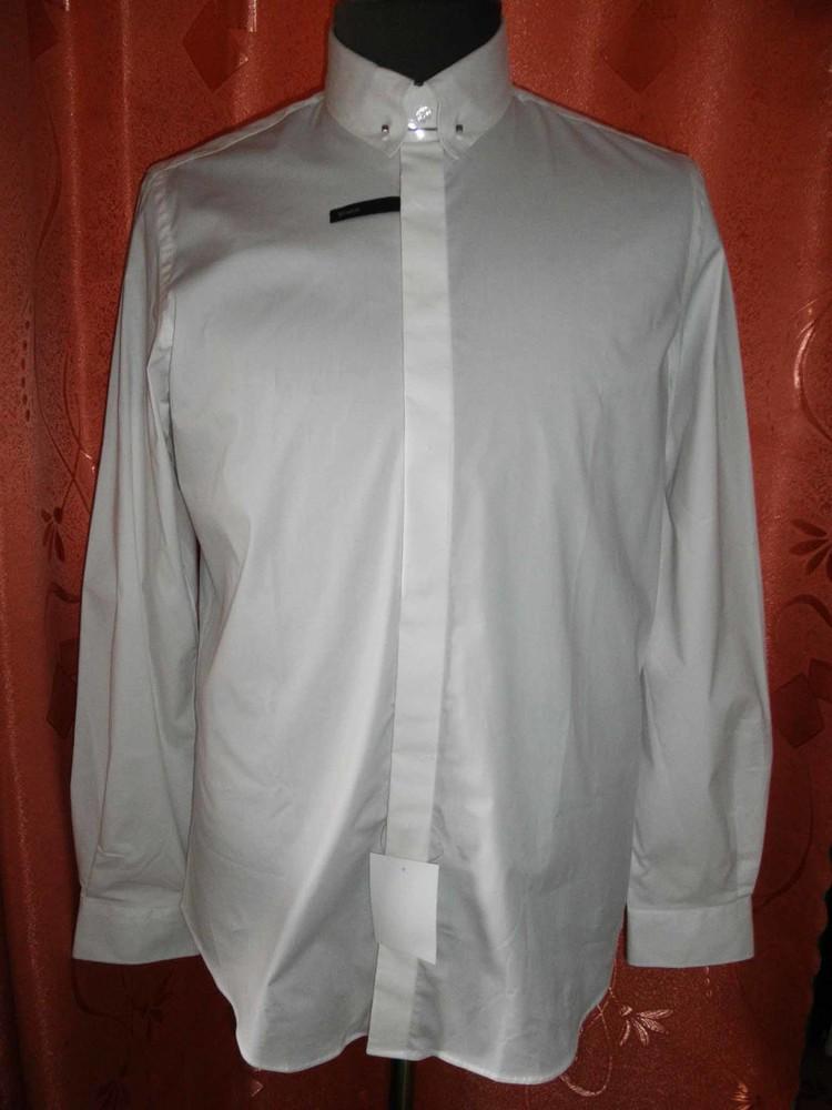 Белая мужская рубашка Angelo Litrico фото №1
