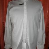 Белая мужская рубашка Angelo Litrico все размеры