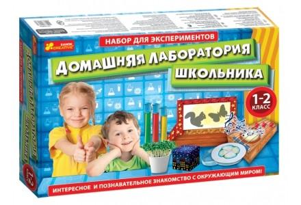 Набор для экспериментов домашняя лаборатория школьника ranok сreative фото №1
